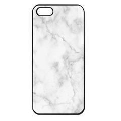 Marble Apple Iphone 5 Seamless Case (black)