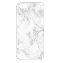 Marble Apple Iphone 5 Seamless Case (white) by DannyM