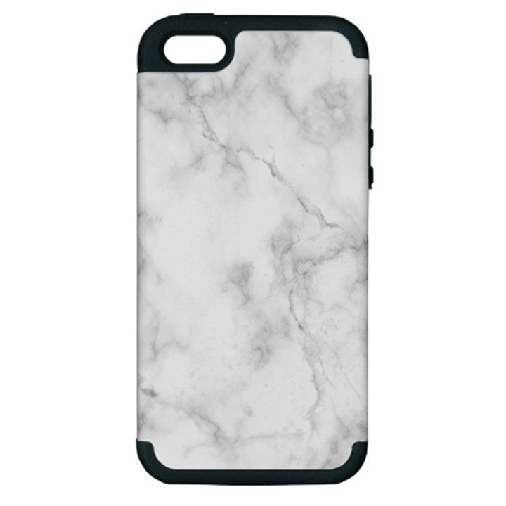 Marble Apple iPhone 5 Hardshell Case (PC+Silicone)