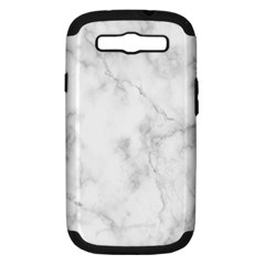 Marble Samsung Galaxy S Iii Hardshell Case (pc+silicone) by DannyM