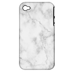 Marble Apple Iphone 4/4s Hardshell Case (pc+silicone) by DannyM