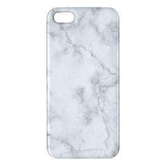 Marble Apple Iphone 5 Premium Hardshell Case by DannyM