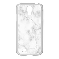 Marble Samsung Galaxy S4 I9500/ I9505 Case (white) by DannyM