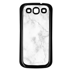 Marble Samsung Galaxy S3 Back Case (black)