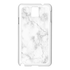 Marble Samsung Galaxy Note 3 N9005 Case (white)