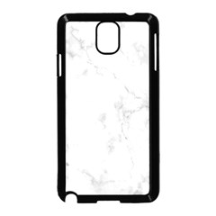 Marble Samsung Galaxy Note 3 Neo Hardshell Case (black) by DannyM