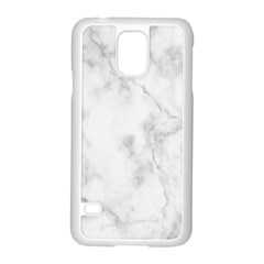 Marble Samsung Galaxy S5 Case (white) by DannyM