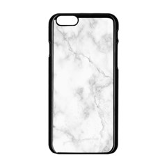 Marble Apple Iphone 6/6s Black Enamel Case