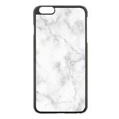 Marble Apple Iphone 6 Plus/6s Plus Black Enamel Case
