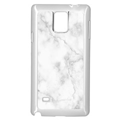 Marble Samsung Galaxy Note 4 Case (white)