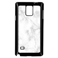 Marble Samsung Galaxy Note 4 Case (black)