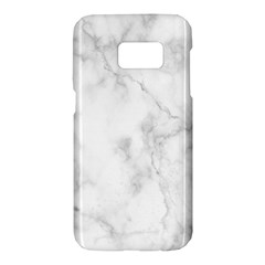Marble Samsung Galaxy S7 Hardshell Case  by DannyM