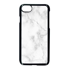 Marble Apple Iphone 7 Seamless Case (black) by DannyM