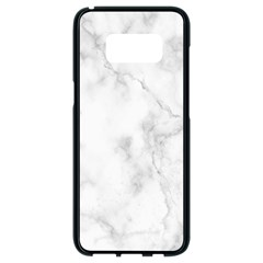 Marble Samsung Galaxy S8 Black Seamless Case