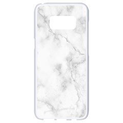 Marble Samsung Galaxy S8 White Seamless Case by DannyM