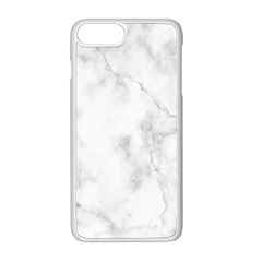 Marble Apple Iphone 8 Plus Seamless Case (white) by DannyM