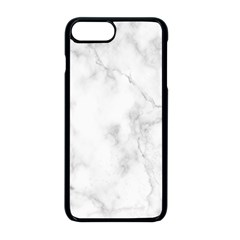 Marble Apple Iphone 8 Plus Seamless Case (black)