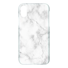 Marble Apple Iphone X Hardshell Case by DannyM