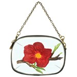Deep Plumb Blossom Chain Purse (One Side) Front