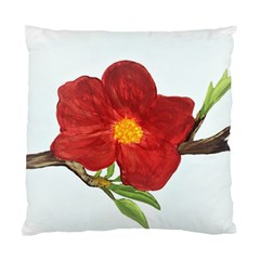 Deep Plumb Blossom Standard Cushion Case (one Side)