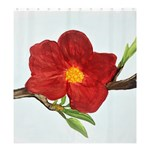 Deep Plumb Blossom Shower Curtain 66  x 72  (Large)  58.75 x64.8 Curtain