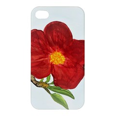 Deep Plumb Blossom Apple Iphone 4/4s Hardshell Case