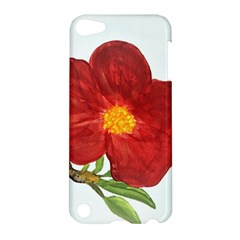 Deep Plumb Blossom Apple Ipod Touch 5 Hardshell Case