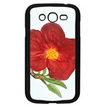 Deep Plumb Blossom Samsung Galaxy Grand DUOS I9082 Case (Black) Front