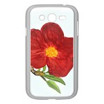 Deep Plumb Blossom Samsung Galaxy Grand DUOS I9082 Case (White) Front