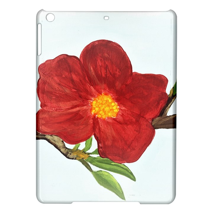 Deep Plumb Blossom iPad Air Hardshell Cases