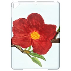 Deep Plumb Blossom Apple Ipad Pro 9 7   Hardshell Case