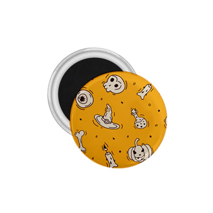Funny Halloween Party Pattern 1.75  Magnets