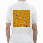 Funny Halloween Party Pattern Golf Shirt Back