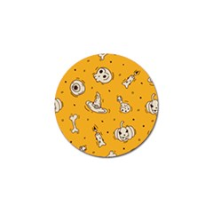 Funny Halloween Party Pattern Golf Ball Marker