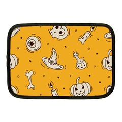 Funny Halloween Party Pattern Netbook Case (medium)