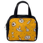 Funny Halloween Party Pattern Classic Handbag (One Side) Front