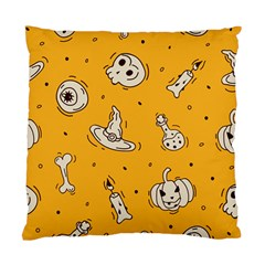 Funny Halloween Party Pattern Standard Cushion Case (two Sides)