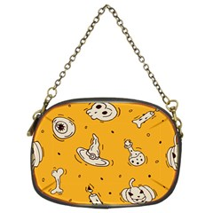 Funny Halloween Party Pattern Chain Purse (two Sides) by HalloweenParty