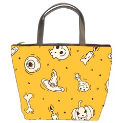 Funny Halloween Party Pattern Bucket Bag