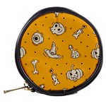 Funny Halloween Party Pattern Mini Makeup Bag Back