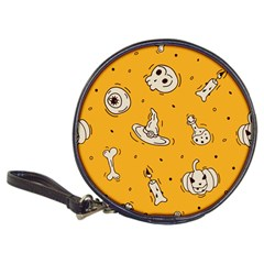 Funny Halloween Party Pattern Classic 20 Cd Wallets