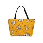 Funny Halloween Party Pattern Classic Shoulder Handbag Front
