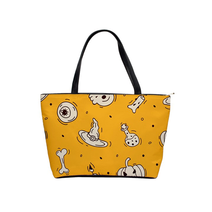 Funny Halloween Party Pattern Classic Shoulder Handbag