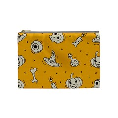 Funny Halloween Party Pattern Cosmetic Bag (medium)