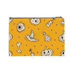 Funny Halloween Party Pattern Cosmetic Bag (Large) Back