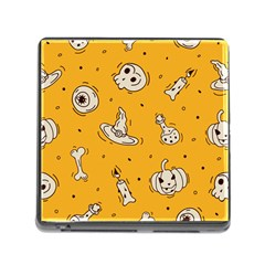 Funny Halloween Party Pattern Memory Card Reader (square 5 Slot)