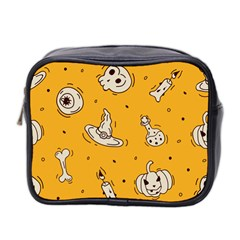 Funny Halloween Party Pattern Mini Toiletries Bag (two Sides)
