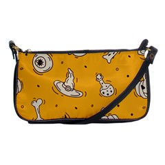 Funny Halloween Party Pattern Shoulder Clutch Bag