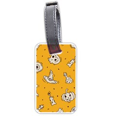 Funny Halloween Party Pattern Luggage Tags (two Sides)