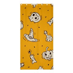 Funny Halloween Party Pattern Shower Curtain 36  X 72  (stall)